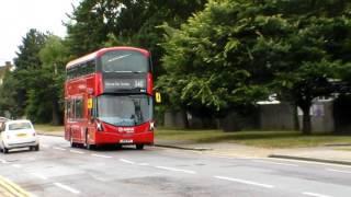 arriva london buses in marsh lane canons park 27 07 2016