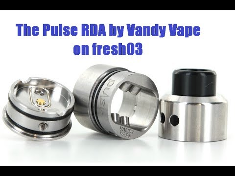 The Pulse RDA by Vandy Vape and Tony B: (Non-Squonking) Review