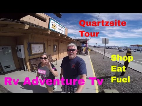 RV Life Living Full Time S4 E12 Tour of Quartzsite Arizona.Where to Boondock,Where to shop.Find Gold