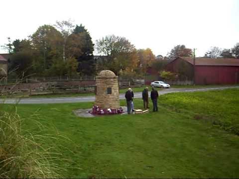 Heart of Midlothian Memorial,Contalmaison, The Somme, France