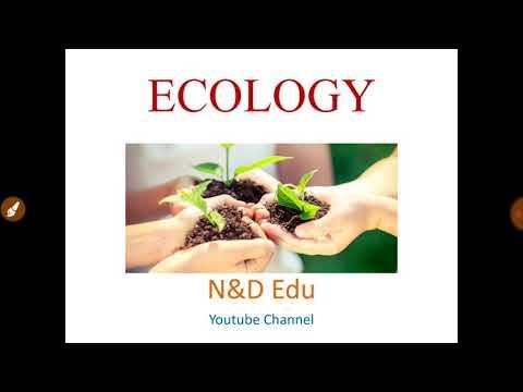 Ecology || Environment ||  Ecosystem || latest video 2018