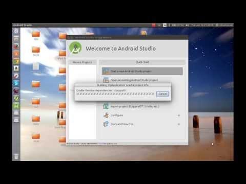 Install Android Studio on Ubuntu 15.04