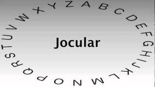 SAT Vocabulary Words and Definitions — Jocular