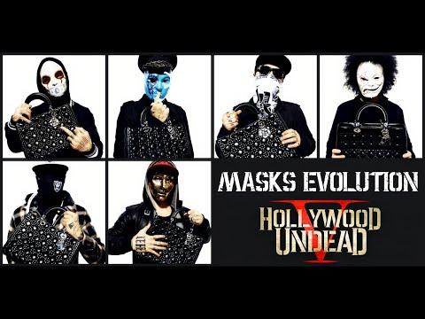 hollywood undead masks evolution and unmasked 2005 2018 youtube