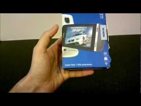 Nokia Asha 311 - Unboxing
