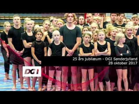 25 års jubilæum i DGI Sønderjylland