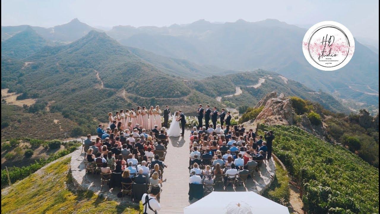 Malibu Rocky Oaks Wedding.Wedding Video At Malibu Rocky Oaks Wedding Venue Meriel Mark Highlight