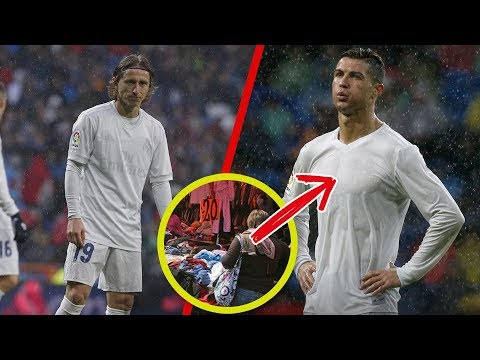 El d�a que los uniformes del Real Madrid SE DESPINTARON EN MEDIO PARTIDO