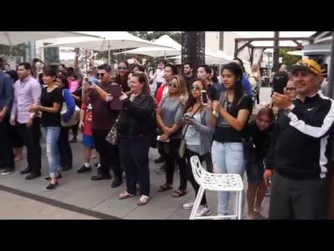 Bruno mars- marry you flash-mob marriage proposal