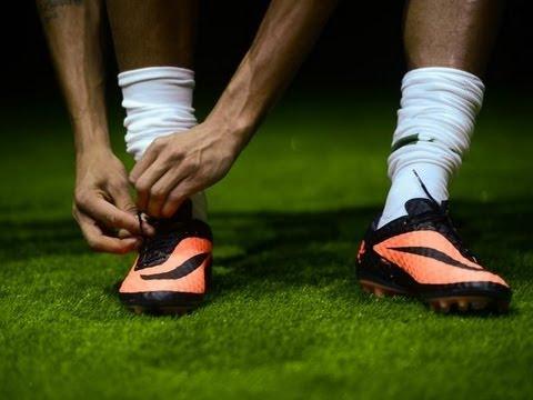 5078238eb New Neymar Boots  Nike Hypervenom Phantom FG Black Orange Unboxing ...