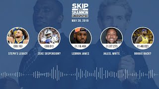 UNDISPUTED Audio Podcast (5.28.19) with Skip Bayless, Shannon Sharpe & Jenny Taft   UNDISPUTED