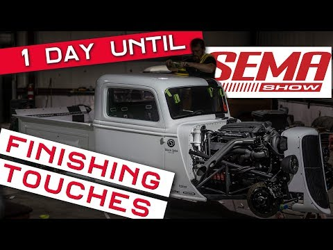Factory Five Racing '35 Truck - 1 Day Until SEMA 2018!