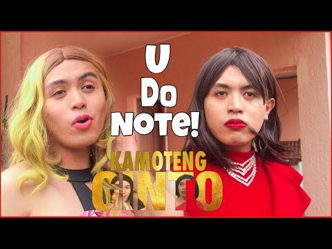 KAMOTENG GINTO: YOU DO NOTE! (kadenang ginto parody)