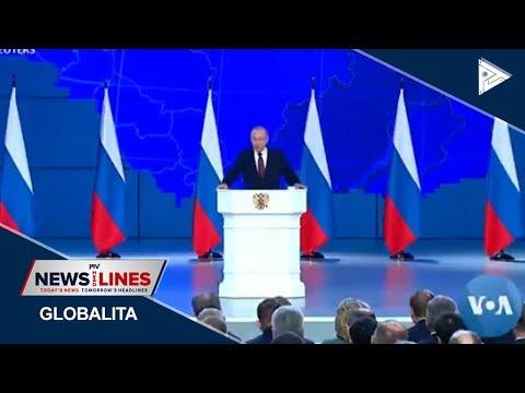 GLOBAL NEWS: Putin vows to target US if Washington deploys missiles in Europe