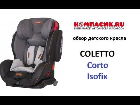 Вся правда об автокресле Coletto Corto Isofix. Обзор от Компасик.Ру