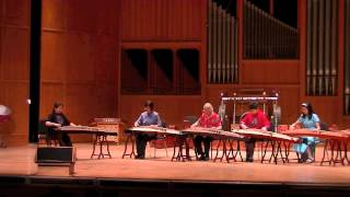 FSU Chinese Music Ensemble Concert 4-2-13  PART THREE《渔舟唱晚》《纺织忙》