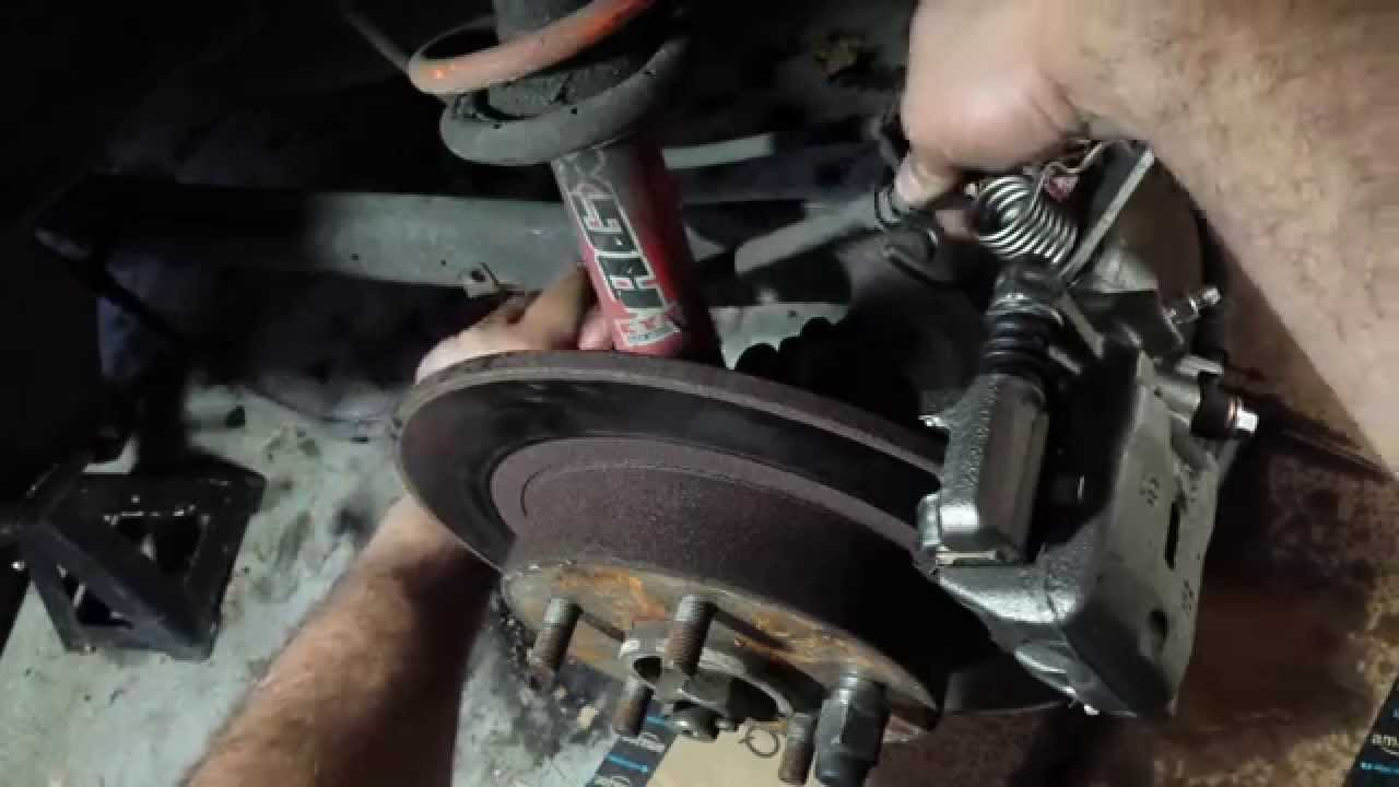 1995 2001 Nissan Maxima Rear Brake Caliper Replacement Youtube
