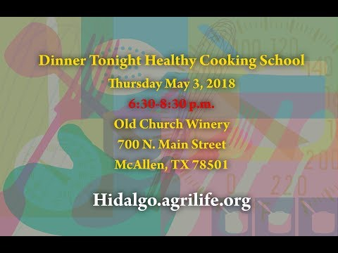 Texas A&M Agrilife cooking with a  Celebrity Chef