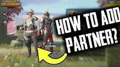 HOW TO ADD PARTNER IN YOUR PROFILE | NEW FEATURE | 0.12.0 UPDATE | PUBGM
