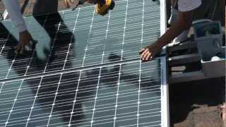 Solar Time Lapse Installation Video, Jeff Stone HERO, HelioPower