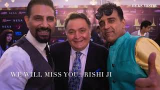 RISHI KAPOOR - For all The Fans.