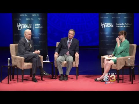 Politics Of Inclusion Takes Center Stage At University Of Delaware Forum With Biden, Kasich