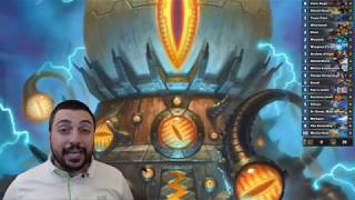 Mecha'thun Warrior - The Best vs almost all tempo + control hearthstone top decks | Rise of Shadows