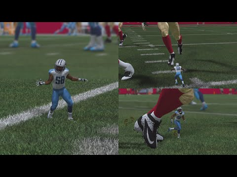 Honey, Madden shrunk the linebacker in its greatest glitch of all time