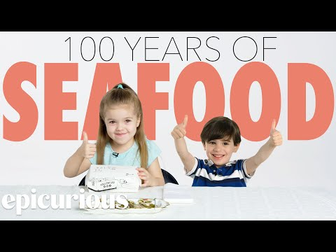 Kids Try 100 Years of Seafood