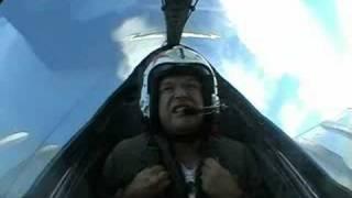 MiG 15 Cockpit View 680mph (1100Km/hr) - This guy is a wuss, Ha Ha!