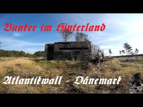Bunker Atlantikwall Karte.Bunker Atlantikwall Danemark Teil 1