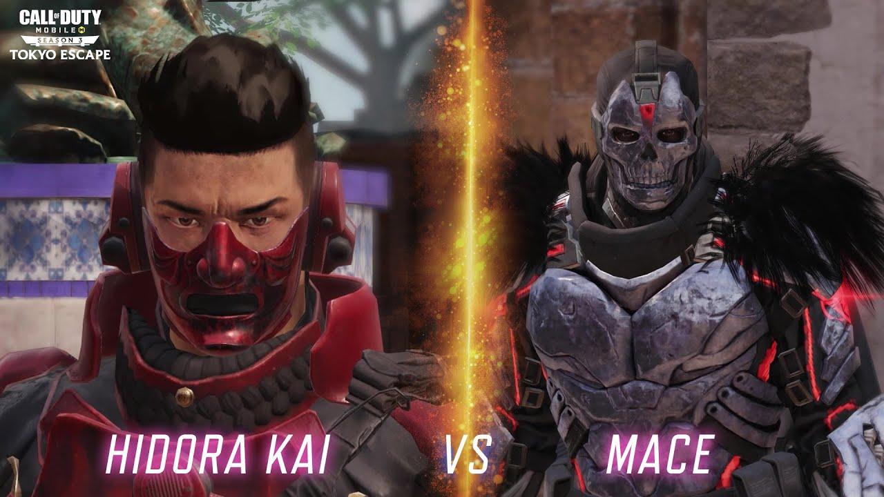 Call of Duty®: Mobile - Hidora Kai vs Mace