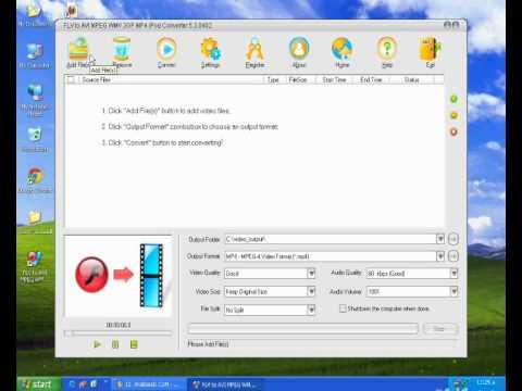 FLV to AVI MPEG WMV 3GP MP4 iPod Converter.wmv