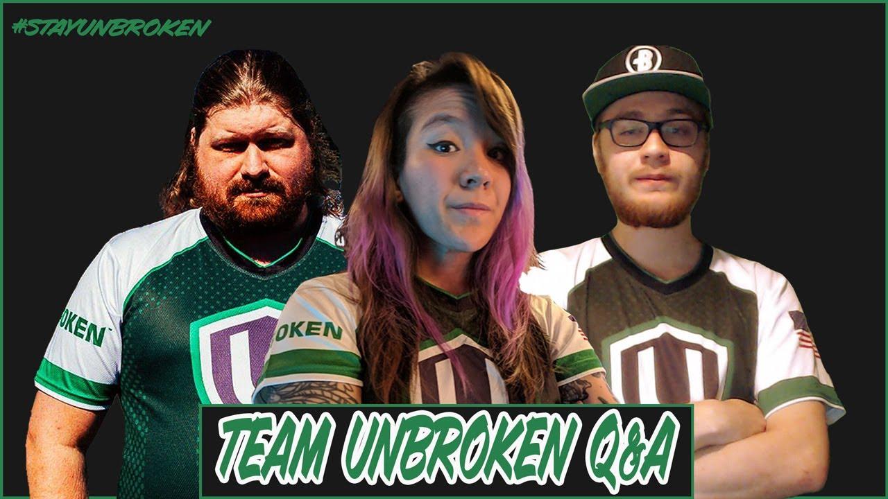 Team Unbroken Q & A