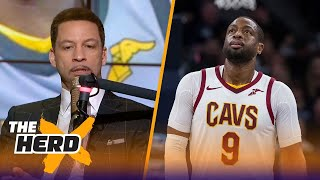 Chris Broussard on the Cleveland Cavaliers trading Dwyane Wade to the Miami Heat | THE HERD