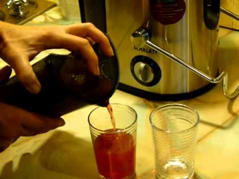 Соковыжималка SCARLETT SC015 - Сок из яблок: быстро и вкусно!