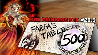 "Table 500 Coaching Fire Princess FTK #28.5 - ""Printer's broken..."""