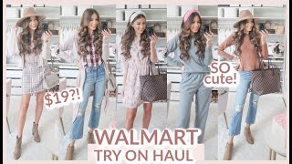 WALMART FALL TRY ON HAUL 2020 | CUTE FALL SWEATERS, BOOTIES + MORE!