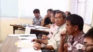 第3回石垣市自然環境保全ネットワーク会議でカンムリワシが話題に