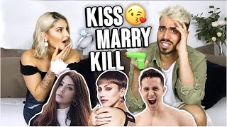 KISS, MARRY OR KILL... DES YOUTUBEURS! 💔 ft Beautyction