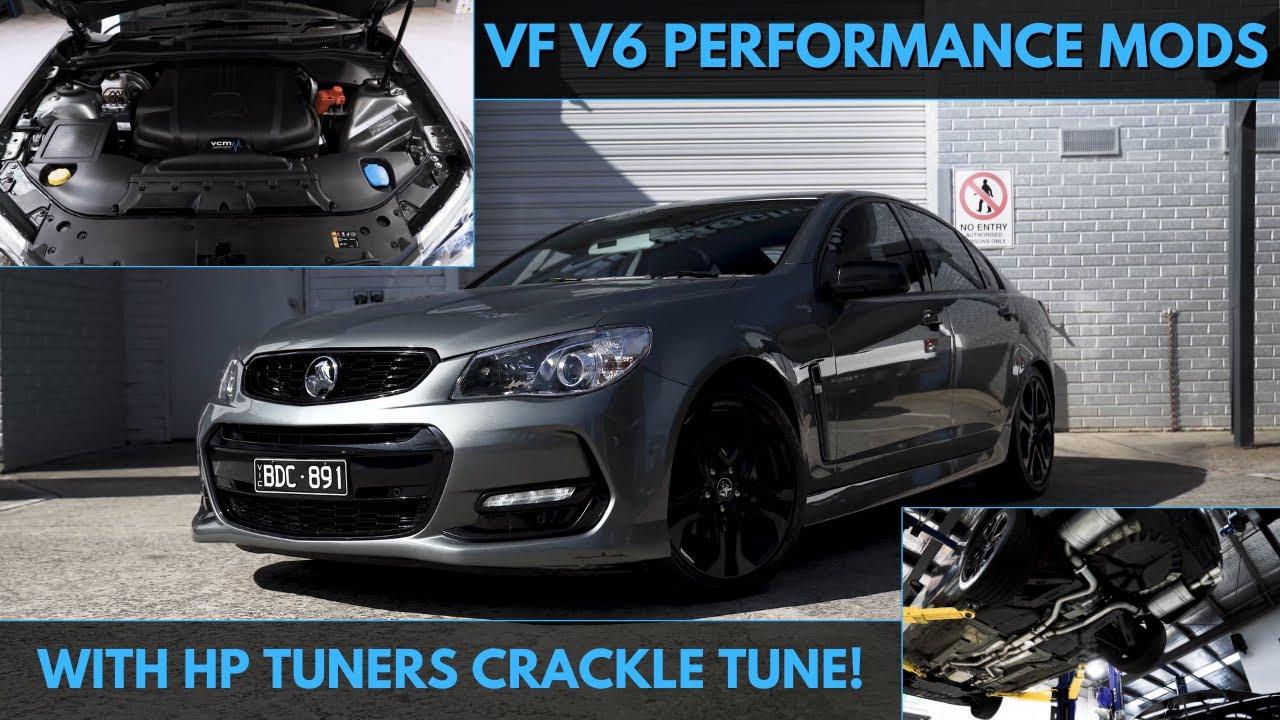 Download VF V6 OTR & EXHAUST INSTALL + CRACKLES | 4K