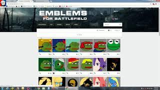 battlefield 4 emblems 2018