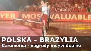 POLSKA - BRAZYLIA - Ceremonia wręczenia nagród indywidualnych