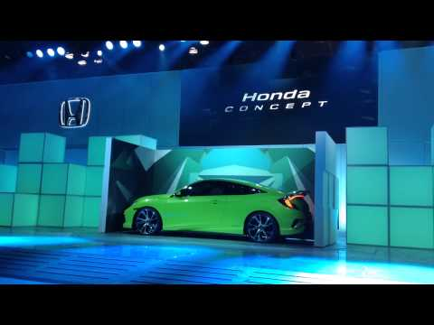 Honda Civic Reveal at 2015 New York International Auto Show