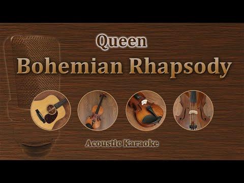Bohemian Rhapsody - Queen (Acoustic Karaoke)
