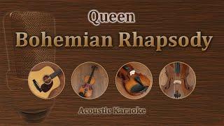 Bohemian Rhapsody - Queen (Acoustic Karaoke, Piano, Violin, Cello)