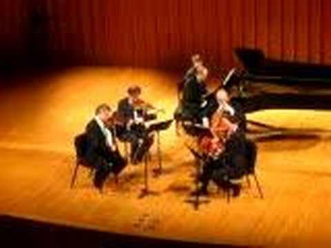 Vermeer String Quartet, Schumann Piano Quintet (1st mvt)