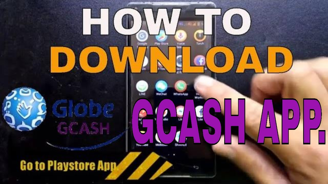 How To Download And Install The Gcash Application From Playstore On Android Phone Youtube