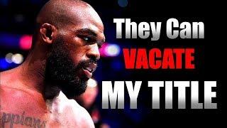 Jon Jones Negotiation with UFC goes Wrong (Jon Jones vs Francis Ngannou)