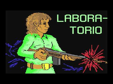 Italian C64 releases with some weird titlescreens